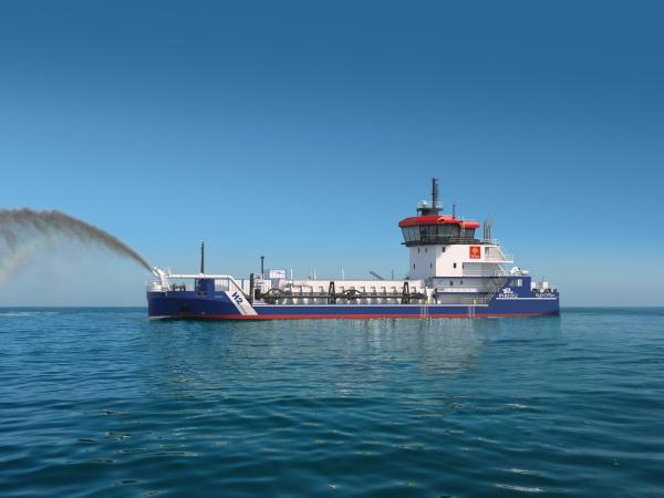 LMG Marin France to design a 70m hopper dredger